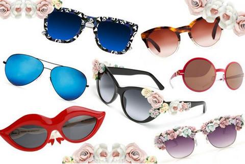 Брендовые женские солнцезащитные очки