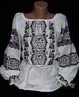 Вышитая блуза на льне 42-60