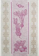 Полотенце 50*70 СВЕКЛА (состав 55%лен, 45%хлопок)лиловій