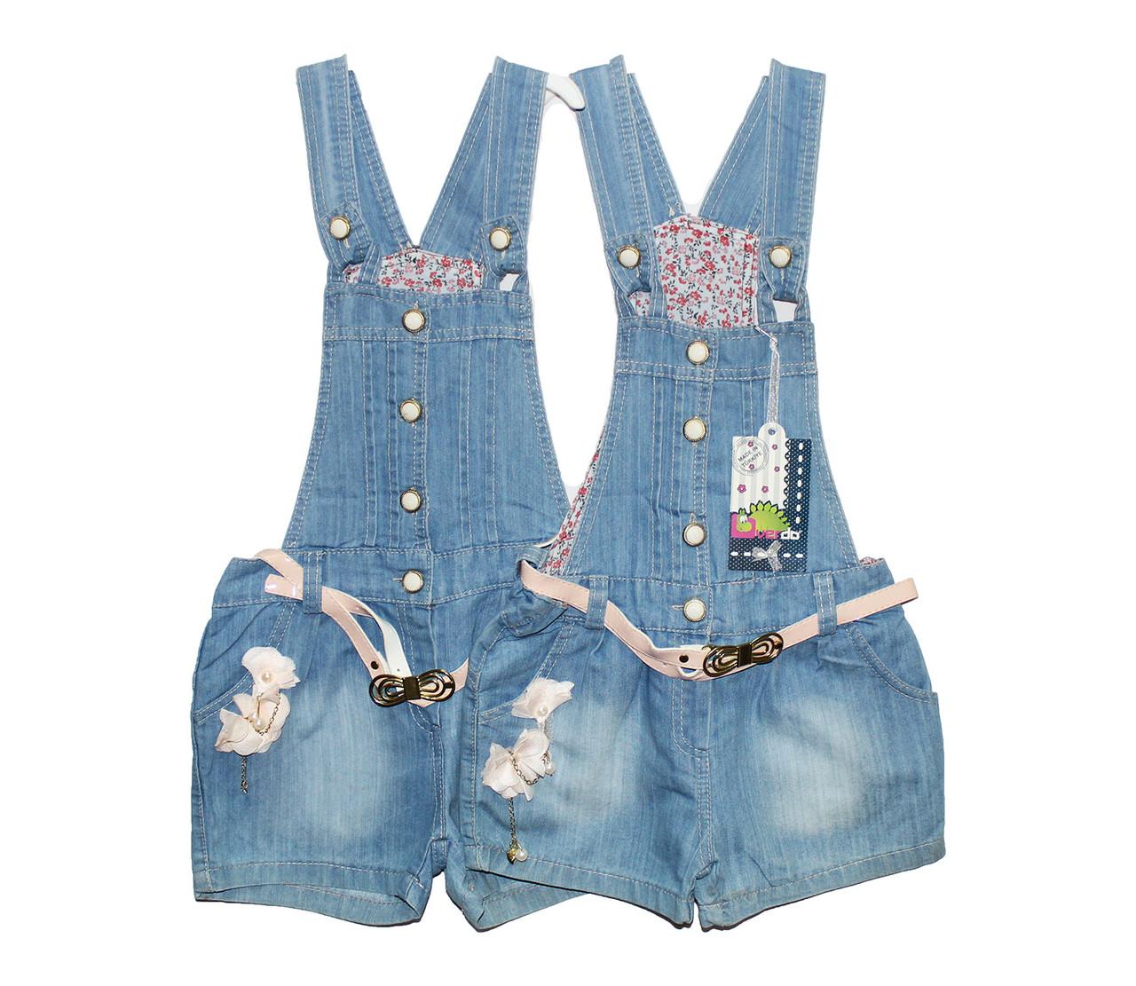 Сарафан-шорты детский джинсовый Overdo 2619
