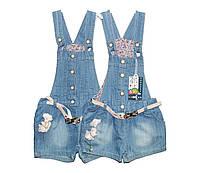Сарафан-шорты детский джинсовый Overdo 2619, фото 1