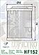 Масляный фильтр Hiflo HF152 для Aprilia, Bombardier, Can-Am, HISUN., фото 2