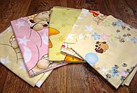 Ситецевая пеленка для новорожденных