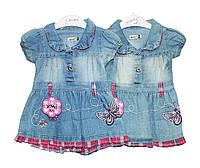 Плаття дитяче джинсовий для дівчинки Sani 2723, фото 1