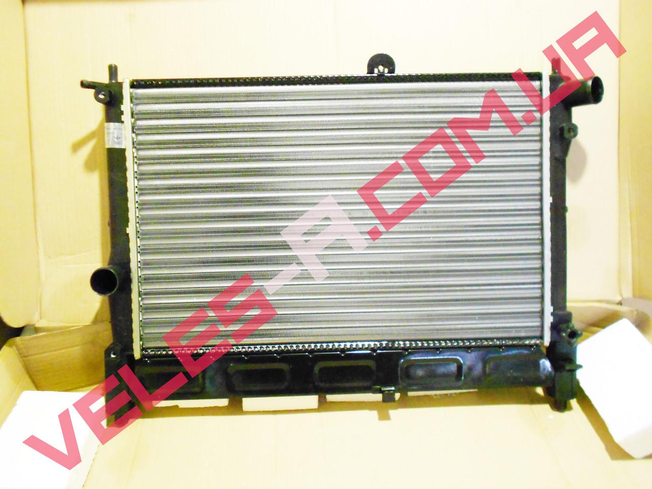 Радіатор охолодження Ланос 1,5-1,6 без кондиціонера ЛУЗАР (алюмінієвий збірної)