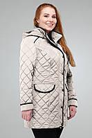 Женская курточка со  съемным капюшоном