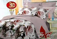 Постельное белье с 3 D эфектом евроразмер