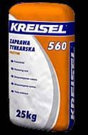 Штукатурка Kreisel (Крайзель) PUTZMORTEL 560 (25 кг)