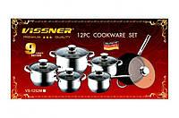 Набор посуды Vissner VS 1252 M (12 предметов)