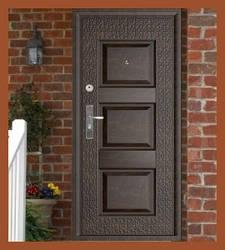 Входные двери с молотковой покраской (улица)