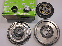 Маховик + Комплект сцепления Volkswagen Caddy 3 1.9 TDI (77кВт) [тип LUK] (механика) VALEO