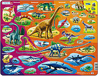 Пазл-вкладыш История природы (на украинском языке), серия МАКСИ, Larsen