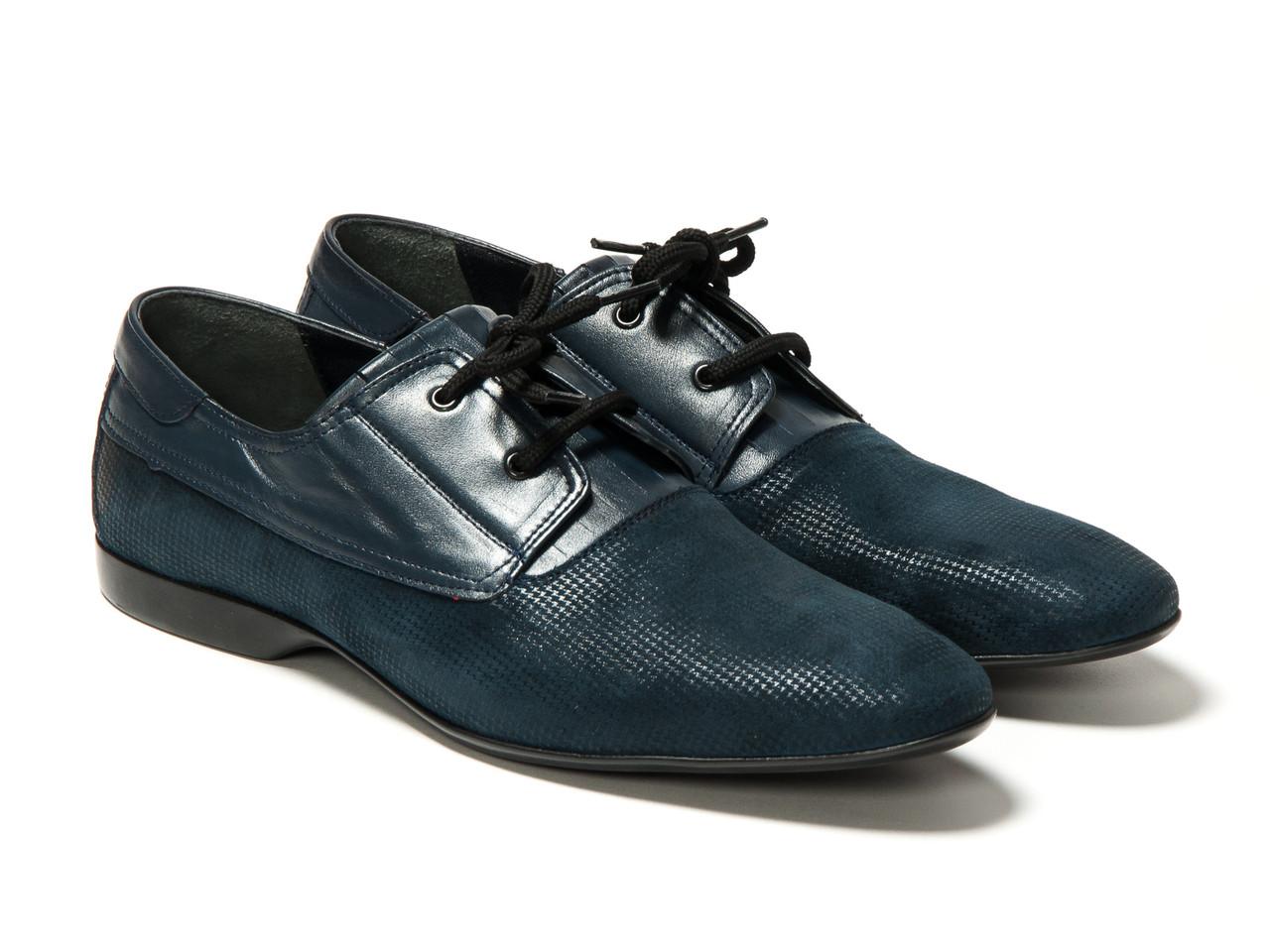 Туфлі Etor 11466-7115 45 сині