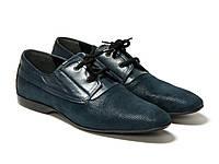 Туфлі Etor 11466-7115 45 сині, фото 1