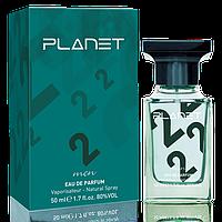 Мужская парфюмированная вода Planet Green, 50 мл, код 3541016