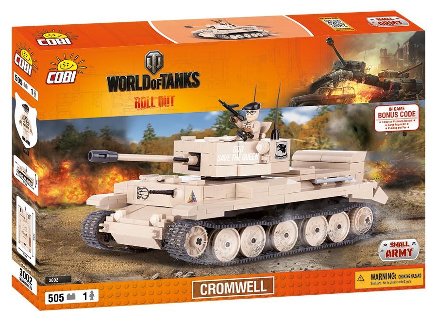 Конструктор Танк Кромвель COBI World Of Tanks (COBI-3002)
