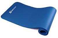 Мат для фитнеса HS-4264 1 см BLUE в дом и спортзал  , Львов