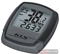 Велокомпьютер KLS DIGIT проводной ✓ 9 функций ✓ цвет: серый