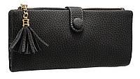 Стильный женский кошелек A811 black