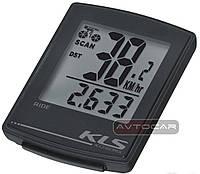 Велокомпьютер KLS RIDE WL беспроводной ✓ 16 функций ✓ цвет: черный