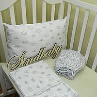 Комплект детского белья в кроватку - 04