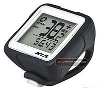 Велокомпьютер KLS REFLEX WL беспроводной ✓ 14 функций ✓ цвет: черный