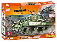 Конструктор COBI World Of Tanks - Шерман Файрфлай