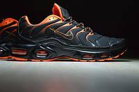 Мужские кроссовки Nike Air Max TN оранжевые с черным