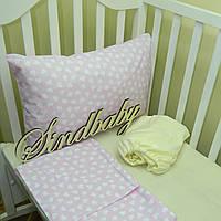Комплект детского белья в кроватку - 07