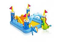 Intex 57138, детский игровой центр бассейн с горкой Замок