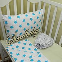 Комплект детского белья в кроватку - 09