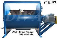 Бетономешалка, бетоносмеситель, растворосмеситель сб-97 купить, фото 1