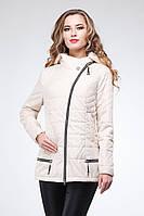 Элегантная куртка  утепленная тонким слоем тинсулейта