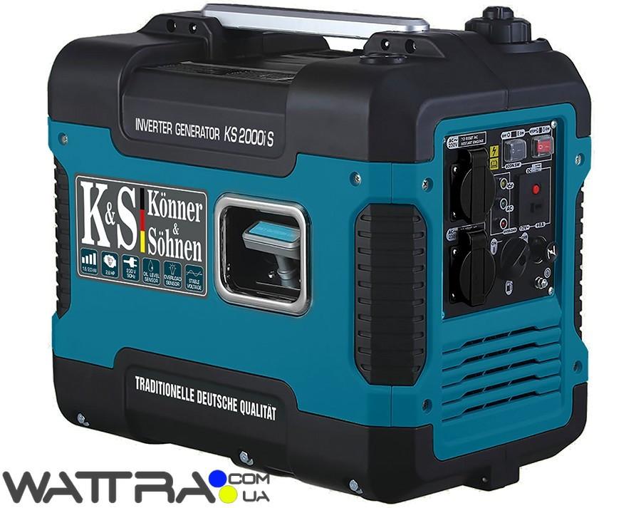 Генератор инверторный  Konner & Sohnen KS 2000i S (2 кВт) - Wattra.com.ua - техника... в Киеве