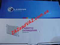Радиатор охлаждения основной ВАЗ 21214 Нива Тайга инжектор алюминий Лузар Luzar Россия LRc 01214