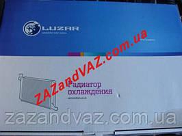 Радиатор охлаждения основной Нексия Nexia алюминиевый Лузар Luzar Россия LRс 05470