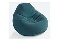 Intex 68583, надувное кресло, зеленое