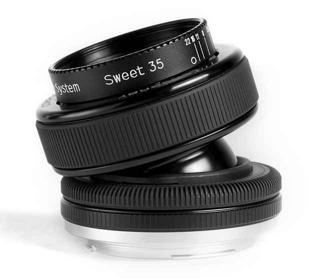 Lensbaby Composer PRO with Sweet 35 Optic на Canon