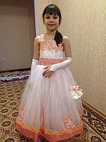 Нарядное платье Нежность прокат Киев, фото 1