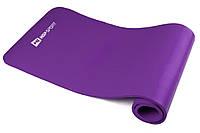 Мат для фитнеса HS-4264 violet в дом и спортзал