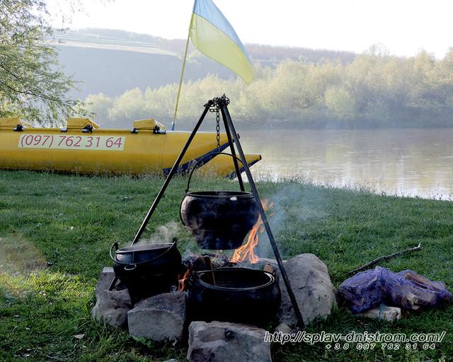 6-8-9 травня супер активні вихідні - сплав річкою Дністер три дня в НАЙ, НАЙ, турі!