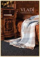 """Плед шерстяной элитной коллекции Vladi """"Комфорт"""" из нежной шерсти новозеландских овец"""