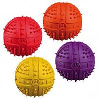 Мяч резиновый с пищалкой 6см Трикси 34841