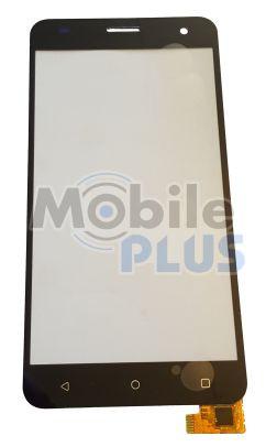 Сенсорний екран (тачскрін) для телефону Nomi i504 Dream Black
