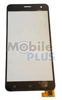 Сенсорный экран (тачскрин) для телефона Nomi i504 Dream Black