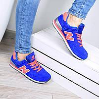 Кроссовки женские New Balance синие 40 РАЗМЕР, спортивная обувь