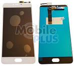 Дисплей (LCD) для Meizu U20 (U685h) з сенсорним екраном White