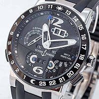 "Часы Ulysse Nardin GMT+/-Perpetual""El Toro"".Класс ААА, фото 1"