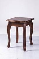 Табурет деревянный с твердым сиденьем Смарт (бук)