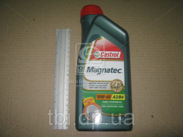 Масло моторное Castrol Magnatec 10w-40 A3/B4 (Канистра 1л)